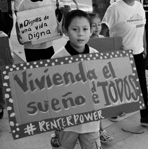 """Vivienda el Sueño de Todos,"" Housing is Everyone's Dream.   2017 Equity for All."